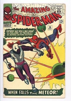 Amazing Spider-Man #36 Vol 1 Near Perfect High Grade 1st App of the Looter