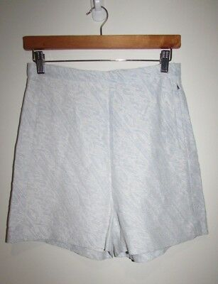 SCANLAN & THEODORE High Waist Silk Shorts Size 10 Small S