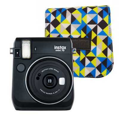FUJIFILM INSTAX MINI 70 BLACK + CASE and 10 Pack