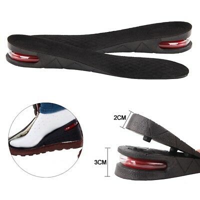 5cm Shoe Lift Height Increase Heel Lifts Insoles Taller Air Bubble Cushion NE8