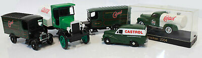 Used Assortment of Castrol Trucks Thornycraft Austin A40 Kenworth Weihnachten