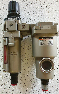 "SMC 1/8"" BSP Pneumatic Regulator  Max 0.05-0.85Mpa AR2000-01"