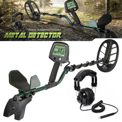 GF2 Metal Detector Waterproof Treasure Hunting Gold Digger LCD Display Headphone