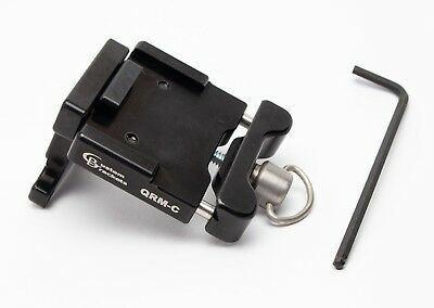 NEW Custom Brackets CB Camera Quick Release QRM-C Manfrotto RC2 style