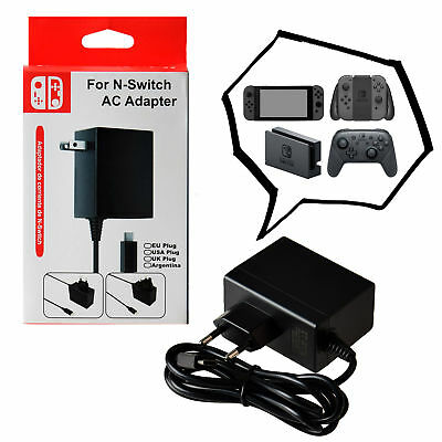 1.5m USB Type-C Charger High Speed AC Power Adapter for Nintendo Switch EU Plug