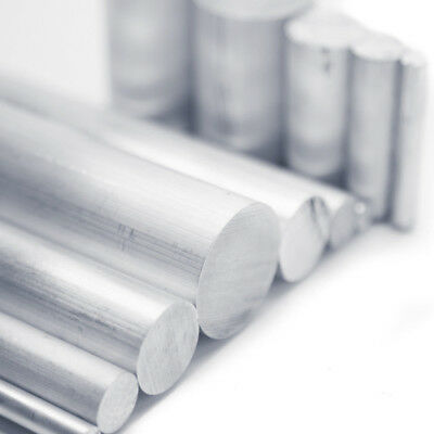 Aluminum Alloy 6061 Round Rod Solid Lathe Bar Cutting Stock Metal LN8