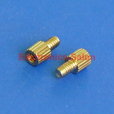 20pcs 3mm Threaded M2 Brass Male-Female Standoff, Spacer.