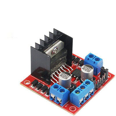 Dual L298N Double H Bridge Stepper Motor Driver Controller Board Module NE8