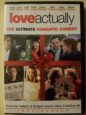 Love Actually Full Screen Edition DVD Fast Free Shipping