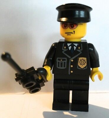 #23 LEGO minifigure Police officer Policeman traffic cop town city sets