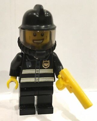 LEGO Fireman Fire fighter Minifigure classic fireman w accessories #10