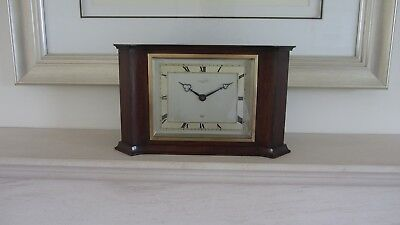 Larger Vintage Oak Cased Elliott Mantel Clock ( Fully Working )