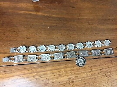 Antique Chinese Sterling Silver Export Bracelet