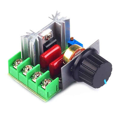 Adjustable 2000W AC Motor Speed Controller 50-220V Voltage Regulator NE8