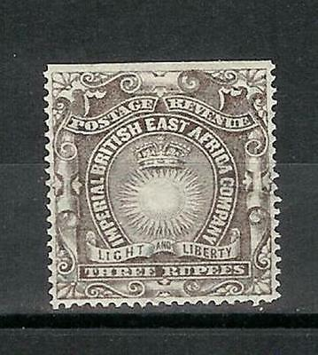 British   East   Africa   Ost   Afrika   Victoria 1890/95   Three   Rupees  Mh*