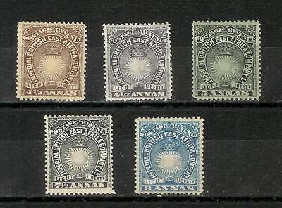 British   East   Africa   Ost   Afrika   Victoria   1890/95    Selection  Mh*