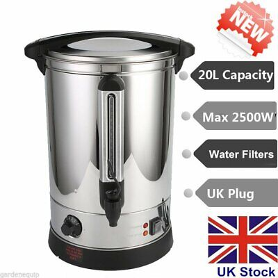 20L Stainless Steel Electric Instant Catering Hot Water Boiler Dispenser Kettle