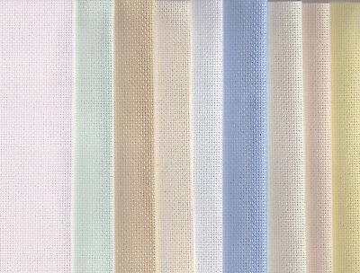 Grab Bag 16 count Aida Cross Stitch Fabric 125g of off-cuts of Aida fabric