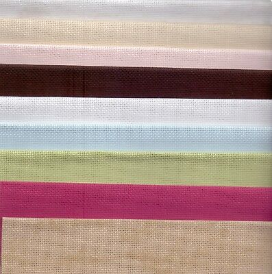 Grab Bag 18 count Aida Cross Stitch Fabric 125 grams of offcuts