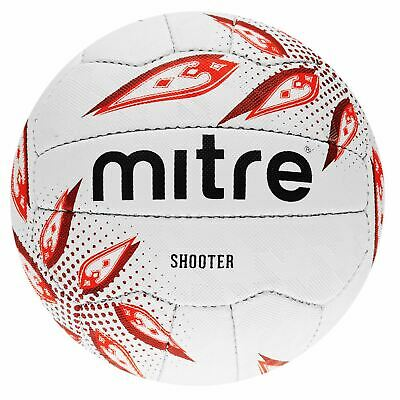 Mitre Shooter Netball Unisex Football Textured Sport Activity