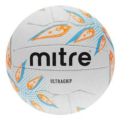 Mitre Ultragrip Netball Ball Unisex Football Pattern Panel Design
