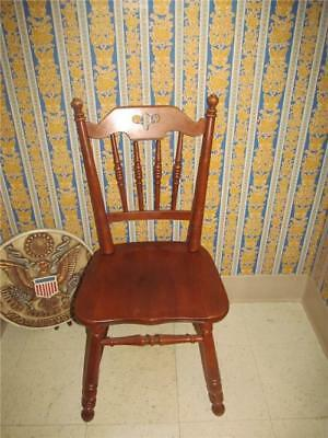 Tell City Hard Rock Andover Maple Dining Room Chair 8048 AS  IS