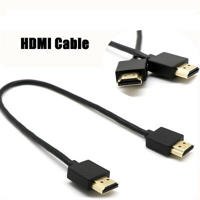 Ultra Slim HDMI Lead for Laptop to TV Cable High Quality Metal Ends/Gold Plated