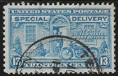xsc308 Scott E15 US Stamp 1927 10c Special Delivery Used
