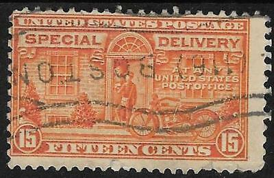 xsc309 Scott E16 US Special Delivery Stamp 1931 15c Motorcycle Delivery Used