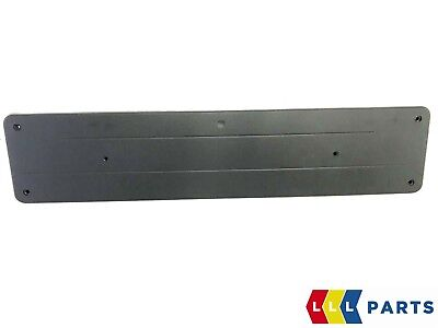 New Genuine Mercedes Benz C Class W205 Front Number Plate Holder