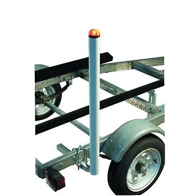 CE Smith 27740 Lighted Post Style Boat Trailer Guides 40""