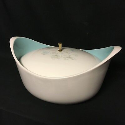 Mid Century Vintage Taylor Smith Taylor Covered Casserole Dish
