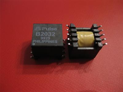 5 PCS PULSE B2032T B2032 TELECOM TRANSFORMER 1:1 1500Vrms 3 Ohm SMD *** NEW ***
