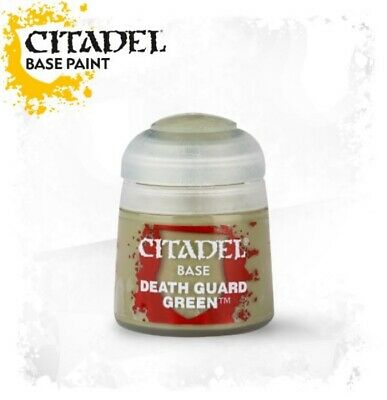 Citadel Paint - Warhammer - Base Death Guard Green (12Ml)  - 21-37