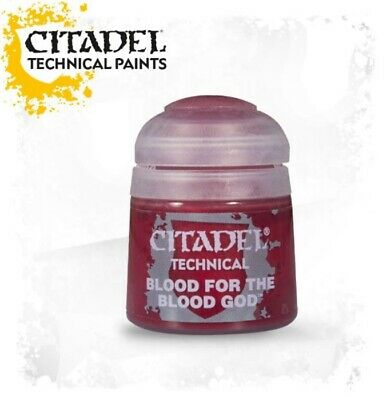Citadel Paint - Warhammer - Technical Blood For The Blood God  - 27-05