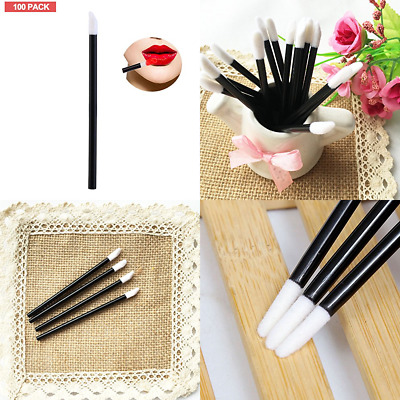 Disposable Eyelash Wands 100 PC In Pack Easy Use Curly Brushes Makeup Mascara To