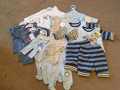 12 Piece BRAND NEW BUNDLE with tags Baby BOY New Born to 6-9months