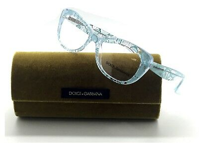 393507d79dc New DOLCE GABBANA Rx-able Eyeglasses DG 3166 2729 51-16 Clear w  Teal