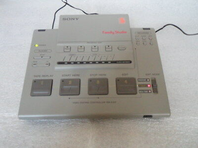 Sony Rm-E33F Pal Video Editing Controller