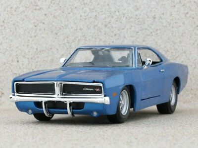 Dodge Charger R//T Custom State Police 1969 Blue Met White MAISTO 1:24 MI32519 Mo