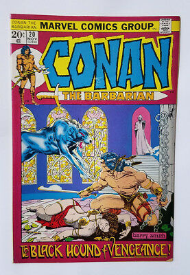 Conan the Barbarian #20 1972 Bronze Age Marvel Comic Barry Smith Robert E Howard