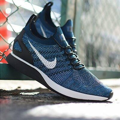 new product 61636 3c7c0 Nike Mariah Flyknit Racer sz 10 918264 300 trainer running shoes