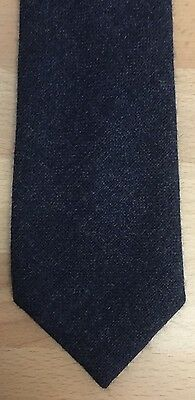 Smart tailored blue St Michael M&S wool tie