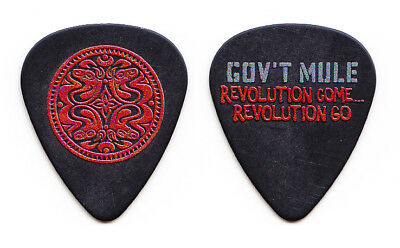 Gov't Mule Warren Haynes Revolution Come...Revolution Go Guitar Pick #4 - 2017