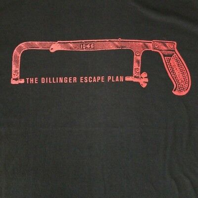 The Dillinger Escape Plan Youth L 14/16 T-Shirt Hacksaw Licensed Tour Band Merch