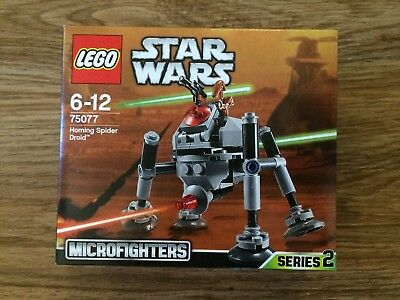 LEGO 75077 Homing Spider Droid Brand New In Sealed Box