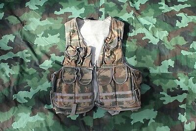 "VRS Bosnian serb vest ""Zelena Tigar"" summer camo CROATIAN/BOSNIAN WAR USED"