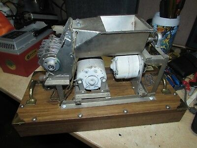 Vintage Display Model Trash Compactor School Office Trash Scrap Metal Recycling