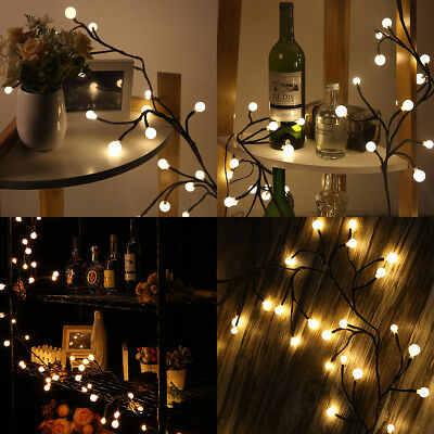 Lampwin Christmas Impermeabile Globe String Lights 72 LEDs 8 Modes Per Party IT
