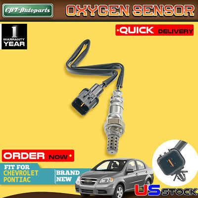 L4 1.6L Fit Downstream Oxygen Sensor 09-10 Pontiac G3 G3 Wave Suzuki Swift